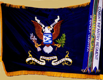 253rd Infantry Regimental Colors