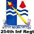 254th Infantry Regimental Crest