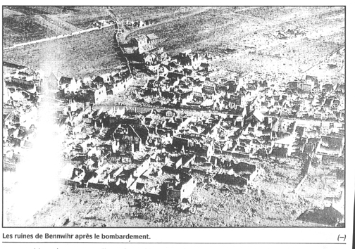 Bennwihr France after the battle
