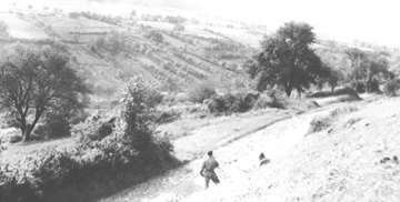 254th Soldiers exploring countryside