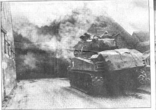Infantry Tank team in action