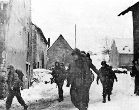 255th Inf troops in Achen, France