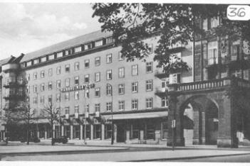 Mannheim Hotel Billets for Hq 2d Bn 254th Inf