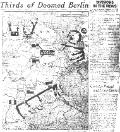 Newspaper Article reporting on war's progress